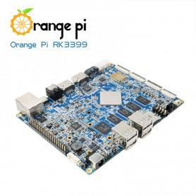 برد شش هسته ای Orange PI RK3399 دارای WiFi و بلوتوث داخلی