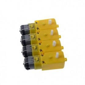 موتور گیربکس پلاستیکی یک طرفه 200RPM جریان پایین