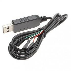 کابل مبدل usb به سریال 4 سیمه PL2303HX USB To TTL