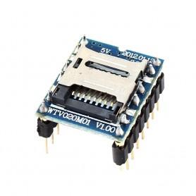 ماژول WTV020-SD جهت بخش فایل های صوتی AD4 - mp3 - wave