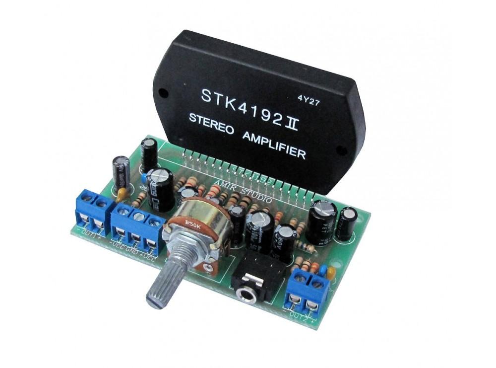 ماژول آمپلی فایر 2x50W با تراشه STK4192