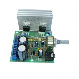 ماژول آمپلی فایر صوتی 18W استریو TDA2030A سری AS