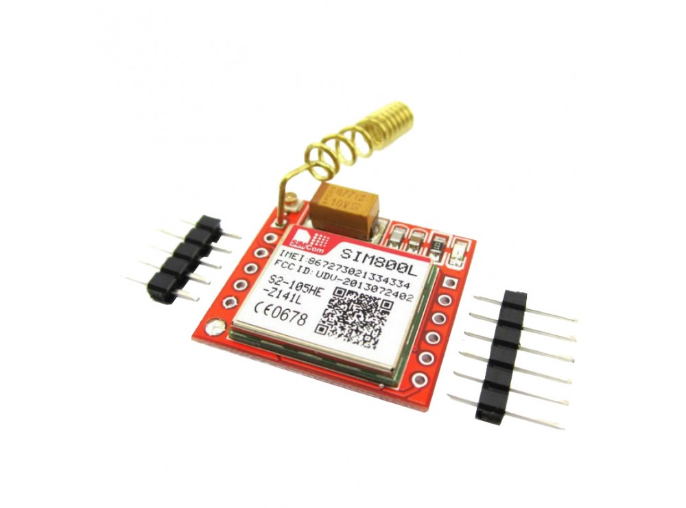 ماژول راه انداز GSM چهار باند SIM800L آپدیت شده با قابلیت GPRS / GSM / SMS