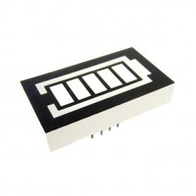 سگمنت نمایشگر مدل باتری دو رنگ آند مشترک
