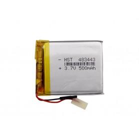 باتری لیتیوم پلیمر 3.7v ظرفیت 500mAh مارک HST