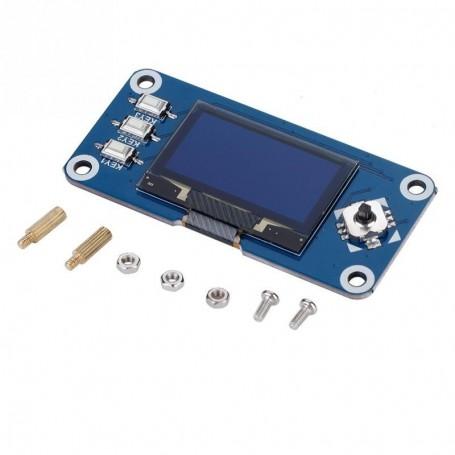 شیلد نمایشگر 1.3 اینچ OLED مخصوص برد Raspberry Pi