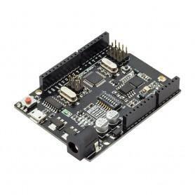 برد آردوینو UNO+WIFI دارای پردازنده ATmega328P+ESP8266 و مبدل CH340G