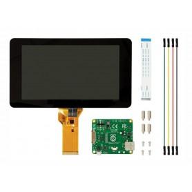 نمایشگر و تاچ اسکرین خازنی 7 اینچ رزبری پای Raspberry Pi - محصول Element 14