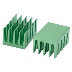 هیت سینک مخصوص پردازنده و تراشه های SMD سبز رنگ سایز 20x14x11mm