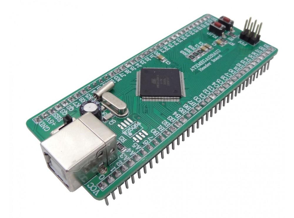 هدربرد - برد راه انداز ATXMEGA128A1U