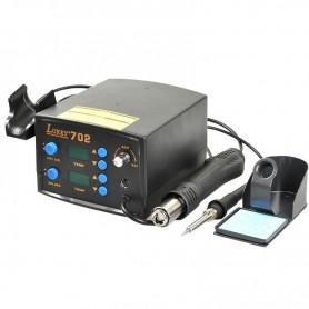 هیتر و هویه هوای گرم دو کاره دیجیتال Lukey مدل 702