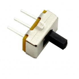 کلید دو حالته کشویی 3 پین ریز صاف SS12D00G