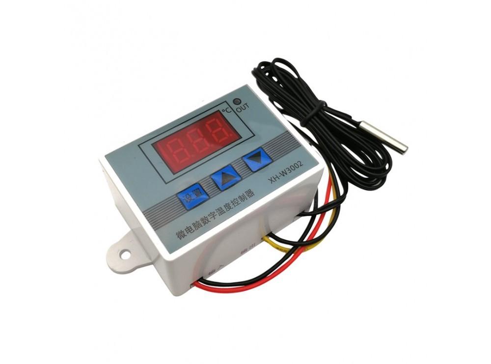ماژول ترموستات دیجیتال 12VDC مدل XH-W3002