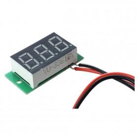 ماژول ولتمتر 3 دیجیت DC0-100V سایز 0.36 اینچ