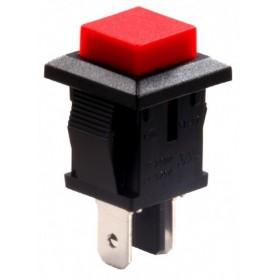 شستی فشاری مربعی قرمز مدل SB-17