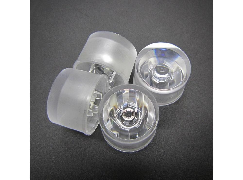 لنز و هولدر یکپارچه LED 15^ 20mm