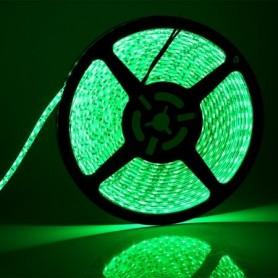 LED نواری سبز ریز 3528-2835 60Pcs رول 5متری