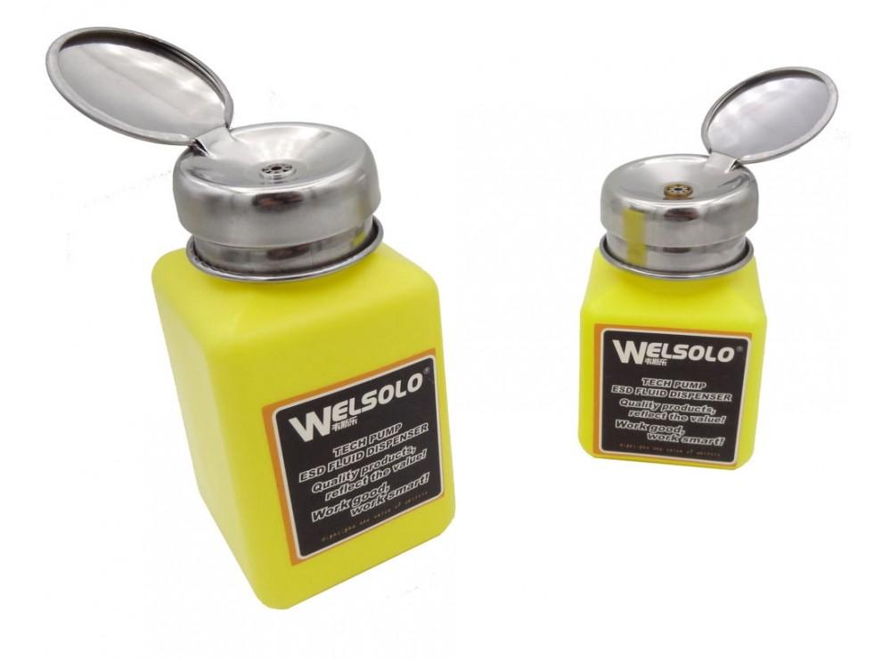 جا مایعی فشاری (جا الکلی) مارک WELSOLO حجم 100ml