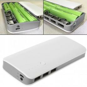 کیس پاوربانک سه خروجی USB به همراه برد 5 باتری