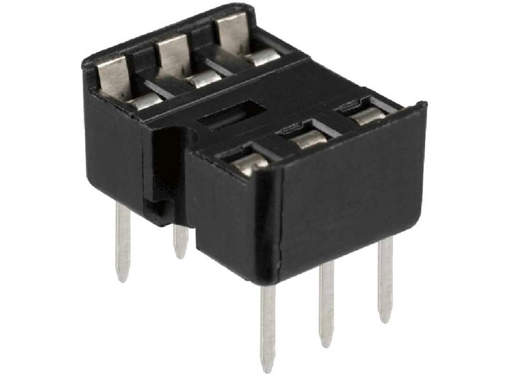 سوکت IC ساده 6 پایه