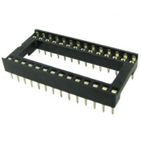 سوکت IC ساده 28 پایه پهن