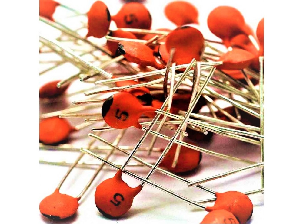 خازن عدسی 1.2nF بسته1000 تایی