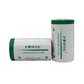 باتری بزرگ لیتیومی 3.6V سایز D مارک Forte