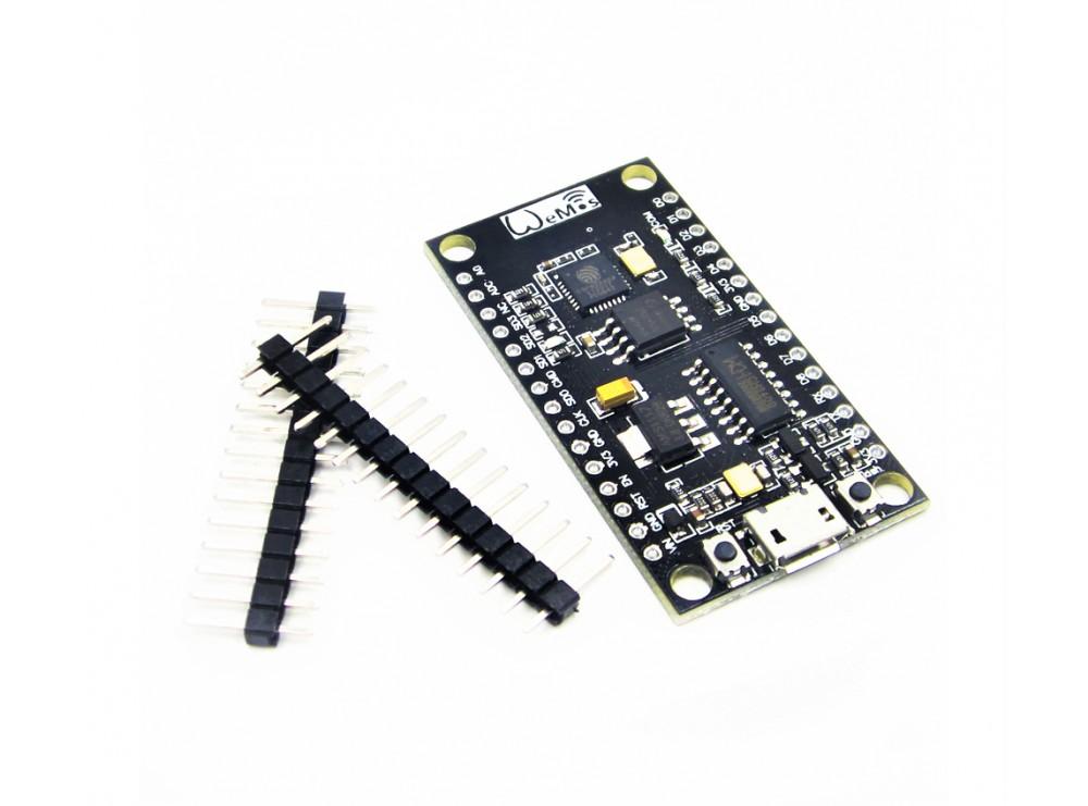 برد توسعه ESP8266 WEMOS باحافظه 32M