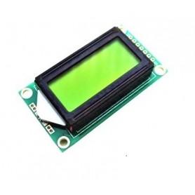 LCD کاراکتری 2x8 بک لایت سبز