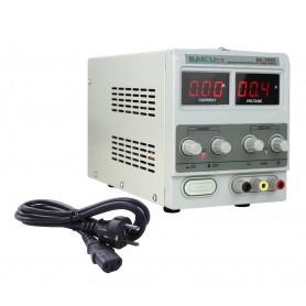 منبع تغذیه دیجیتال 0 تا 30 ولت 5 آمپر BAKU مدل BK-305D