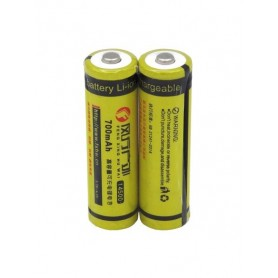 باتری لیتیوم یون 3.7v سایز 14500 700mAh مارک FXHW شیرینگ دوتایی