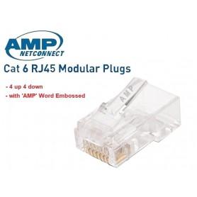 سرسوکت شبکه CAT6 8P8C مارک AMP