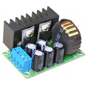 مبدل کاهنده ولتاژ 100 وات با تراشه XL4016E1 با کنترل جریان