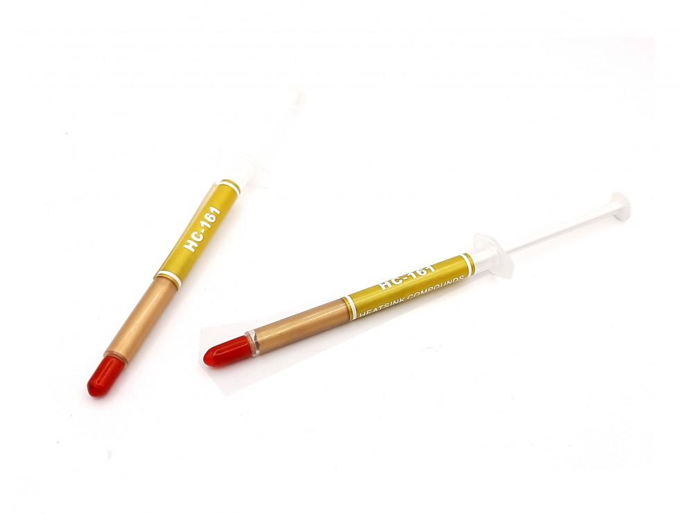 خمیر سیلیکون سرنگی 1 گرمی طلایی HC-161