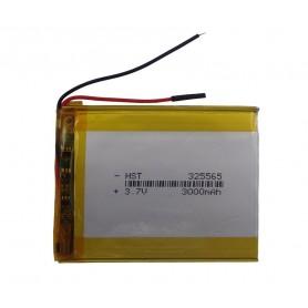 باتری لیتیوم پلیمر 3.7v ظرفیت 3000mAh