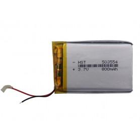 باتری لیتیوم پلیمر 3.7v ظرفیت 800mAh مارک HST