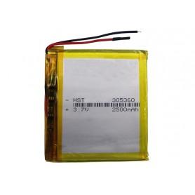 باتری لیتیوم پلیمر 3.7v ظرفیت 2500mAh مارک HST کد 305360