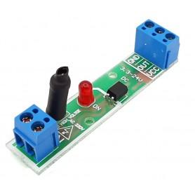 ماژول آشکارسازی ولتاژ 220VAC تک کاناله با خروجی تقویت شده