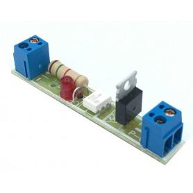 شیلد ترایاک مبدل سطح ولتاژ DC به 220VAC با ولتاژ ورودی 6 تا 24 ولت تک کانال