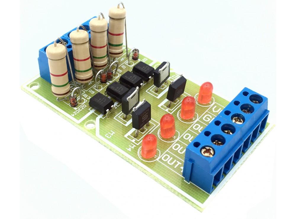 ماژول مبدل سطح ولتاژ DC به DC با ولتاژ 3.3 تا 24 ولت چهار کانال