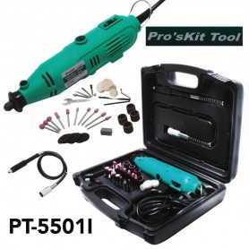 ست مینی دریل انگشتی پیشرفته پروسکیت Proskit مدل PT-5501