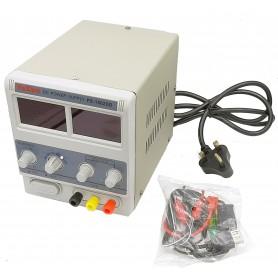 منبع تغذیه دیجیتال 0 تا 15 ولت 2 آمپر یاکسون YAXUN مدل PYI-1502DD