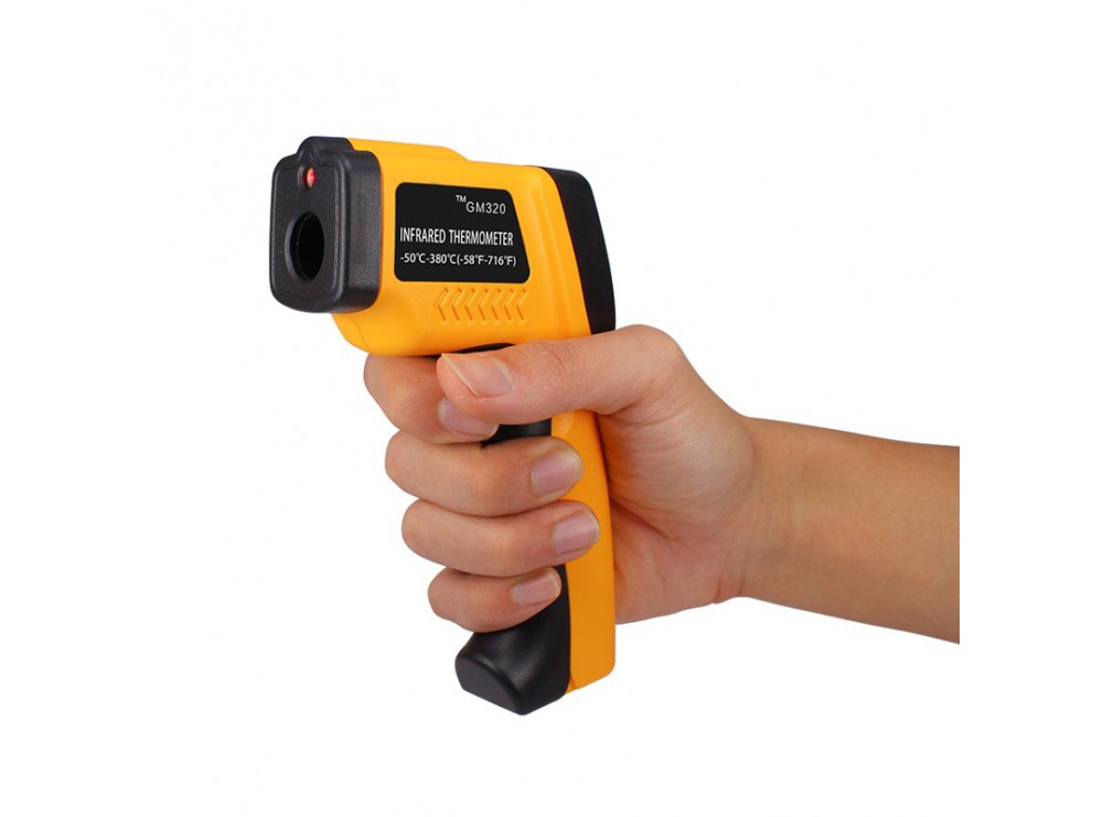دماسنج – ترمومتر لیزری غیرتماسی GM320