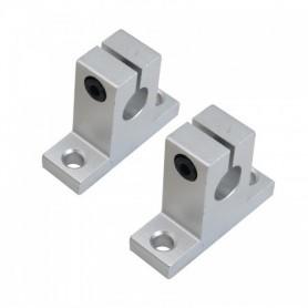 براکت فلزی عمود SK8 مناسب شفت قطر 8 میلی متر بسته2 تایی