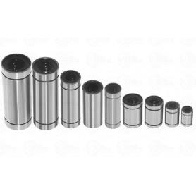 بلبرینگ خطی LM10UU سایز 10X19X55mm مناسب پرینترهای سه بعدی بسته2 تایی