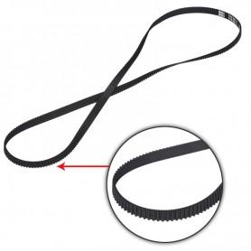 تسمه حلقه بسته 2GT عرض 6mm طول 610mm مخصوص پرینترهای سه بعدی