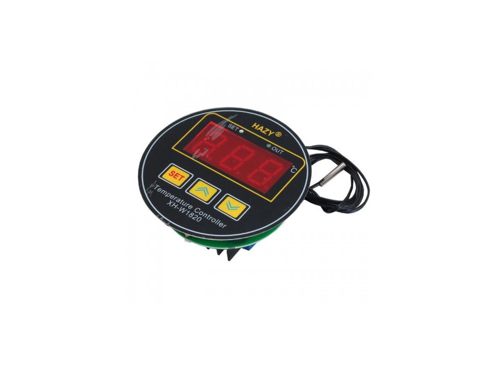 ماژول ترموستات دیجیتال XH-W1820A دارای نمایشگر و کلیدهای کنترلی لمسی
