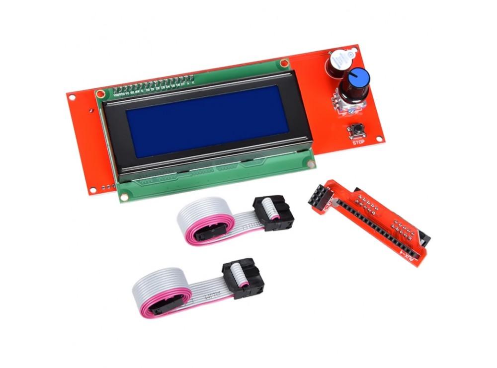 ماژول کنترلر پرینتر سه بعدی Reprapdiscount با نمایشگر کاراکتری 4x20