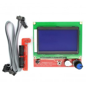 ماژول کنترلر پرینتر سه بعدی Reprapdiscount با نمایشگر گرافیکی 128x64