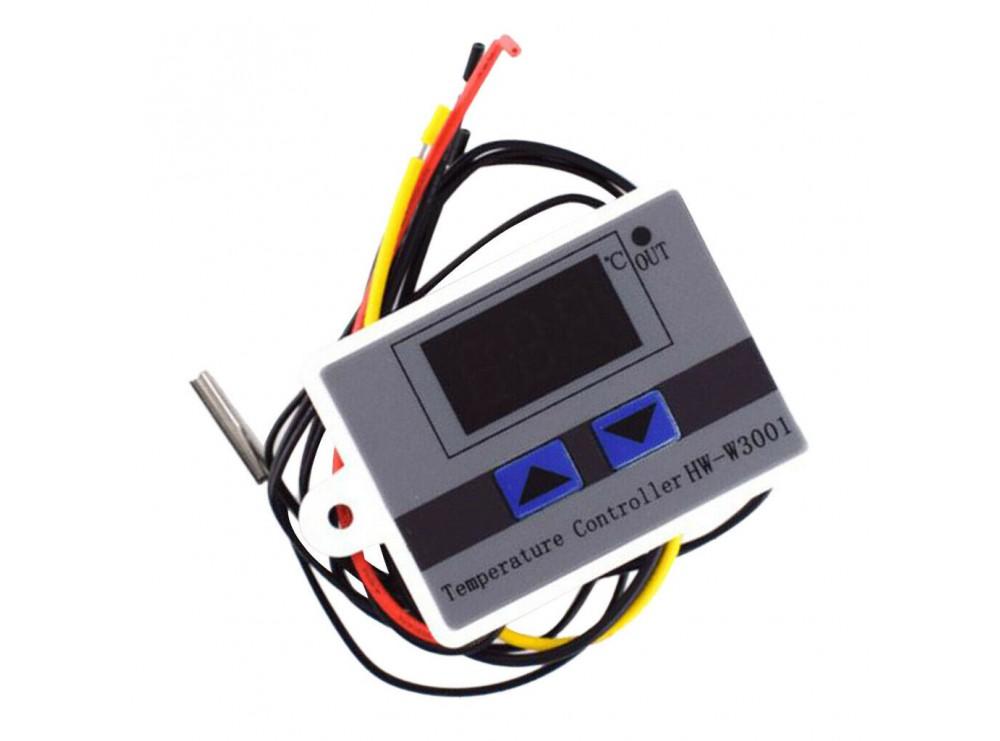 ترموستات 12VDC دیجیتال HW-W3001